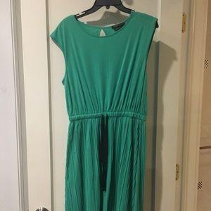 BCBG Maxazaria Green Dress - Size Medium